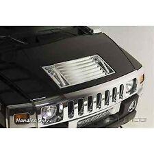 Putco 401047 Chrome Hood Deck Vent Handles for 03-09 Hummer H2