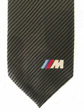 BMW MEN'S M CARBON TIE - BLACK/GREY