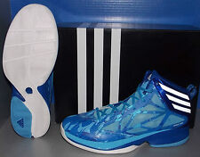 MENS ADIDAS CRAZY FAST in colors BLUE / RUNNING WHITE / ROYAL SIZE 9