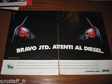 *AI79=FIAT BRAVO JTD=PUBBLICITA'=ADVERTISING=WERBUNG=COUPURE=
