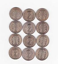More details for 12 half crowns dated 1967 in near mint to mint condition