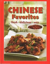 CHINESE FAVORITES Cookbook RECIPES New FOOD Cooking ENTREES Appetizers DESSERT