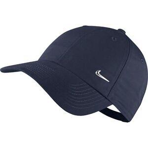 NIKE Basecap Heritage86 Kids Adjustable Hat Metal swoosh verstellbare Mütze blau