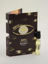 MEMO Marfa Eau De Parfum EDP 2ml Vial Sample Spray With Card