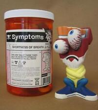 "SYMPTOMS 6.5"" SHORTNESS OF BREATH DESIGNER VINYL FIGURE FLAPJACK TOYS"