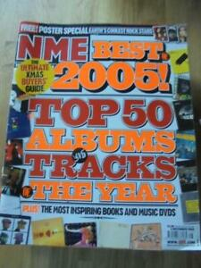 New Musical Express - 3rd December 2005 - Top Albums of 2005 - Very Good cond