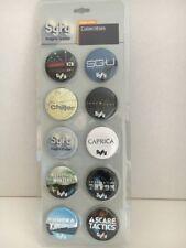 EUReKA STARGATE Syfy Limited Edition Pins Set Of 10