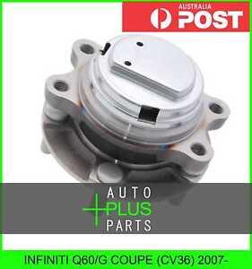 Fits INFINITI Q60/G COUPE (CV36) 2007- - Front Wheel Bearing Hub