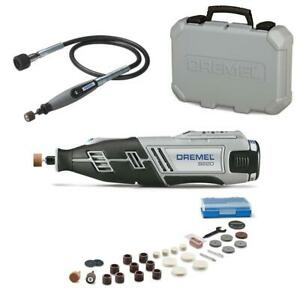 Dremel 32 In. Flex-Shaft Attachment For Rotary Tools + 8220 Series 12-V MAX Kit
