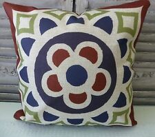 Lima linen blend cushion cover 45 x 45 cms