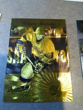 WAYNE GRETZKY 1995-96 select certified regular + gold team