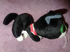 "Cat Black White Tuxedo Kitten 2003 The Artlist Collection 6"" Stuffed Plush"