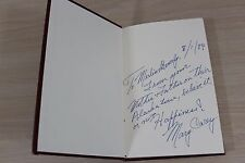 How Long Must I Hide by Mary Carey SIGNED 1st First Edition HC Fugitive Book