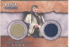 Xena Beauty And Brawn Dual Costume Card DC8 Xena