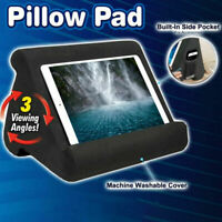 Foldable Laptop Tablet Pillow PC Holder Stand Reading Cushion Pad For iPad AU PP