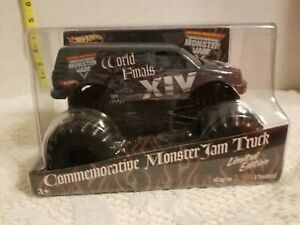 Hot Wheels Monster Jam WORLD FINALS XIV 1:24  1 of 2500