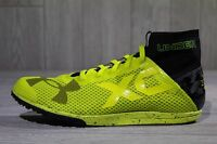 18 Under Armour UA Charged Bandit XC Cross Country Spikes Yellow Sizes 5.5-12