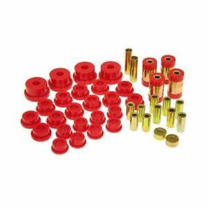 Prothane 13-301 Control Arm Bushings Rear Polyurethane Red For 95-99 Eclipse NEW