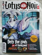 LOTUS NOIR #00 (2004) Magic The Gathering/Star Wars/Spycraft/LotR/CoC • Mint!