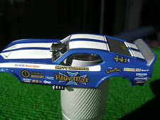 AW Auto World NHRA Legends Blue Max Ford Mustang HO Slot Car Body Fit AW 4 Gear