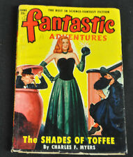 Fantastic Adventures Volume 12 #6 Fine-Vf The Shades Of Toffee Charles F. Myers
