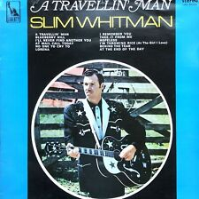 SLIM WHITMAN TRAVELIN' MAN 1966 LIBERTY LP VINYL RECORD ALBUM FULLY PLAY TESTED