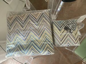 Missoni Home Janet Duvet Cover Queen and 2 Sham Covers