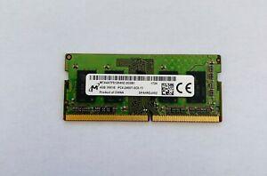 Micron 4GB DDR4 PC4-2400T Laptop RAM Memory SODIMM MTA4ATF51264HZ-2G3B1