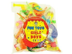 Fun Toys for Girls and Boys - 100 Party Bag Items - Fillers Favours