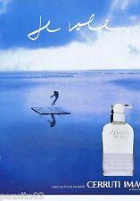 PUBLICITE ADVERTISING 115 2001 Cerruti Image parfum pour homme