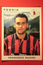 Panini Calciatori 1991/92 1991 1992 N. 124 FOGGIA BAIANO OTTIMA!!