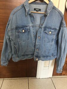 Missguided Denim Jacket- Size 12