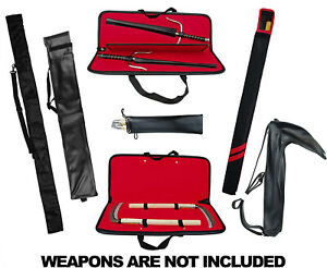 Weapon Case Martial Arts, Kama Sai Nunchaku Bo Staff Escrima Kali Arnis Sai bag