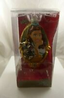 hand crafted glass Christmas Ornament Rare Wizard of Oz Dorothy Toto Kurt Adler