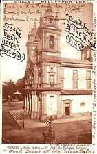 Portugal Braga - Bom Jesus old used both sides sepia postcard