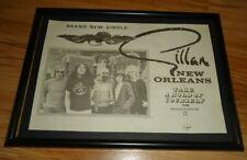 GILLAN new orleans framed original press release promo poster