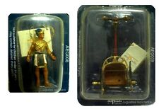 AEG008 Y AEG009 FIGURA PLOMO EGIPTO EGIPCIO DIORAMA LEAD SOLDIER SOLDADO PLOMO