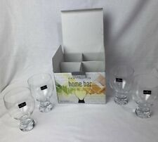 Dartington Crystal Home Bar Gin Goblet Glasses (4 PACK) New