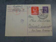 Courrier lettre Timbre Allemagne Wien 1942