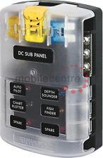 Meeresblau ST 5025 6-fach sicherung verteilung box & neg bus