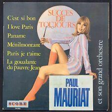 PAUL MAURIAT ET SON ORCHESTRE PANAME LEO FERRE 45T EP SCORE 14.055