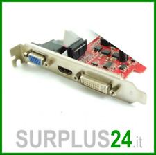 Scheda Video PCI-E VGA / DVI / HDMI interfaccia PCI-E 512MB