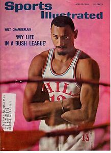1965 Sports Illustrated April 12 - Wilt Chamberlain; Bold Lad; Ed Spiezio;Hockey