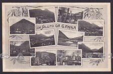 VARESE VALGANNA 17 GANNA - SALUTI da... VEDUTINE Cartolina viaggiata 1935