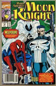 Marc Spector Moon Knight #19-1990 nm- 9.2 Punisher Spider-Man Marvel Comics