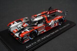 1:43 SPARK S5105 Audi R18 #8 LMP1 HY Le Mans 2016 Audi Sport Team Joest
