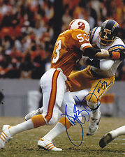 HUGH GREEN  TAMPA BAY BUCCANEERS   ACTION SIGNED 8x10