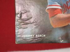 Johnny Bench 11x14 Cardboard photo 1960's Reds