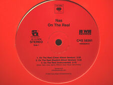 """NAS - ON THE REAL / STAR WARS (12"""")  2004  RARE!!  MARLEY MARL + LARGE PROFESSOR"""