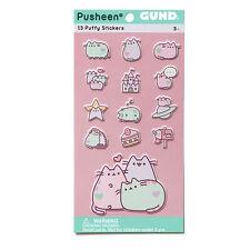 Enesco Pusheen the Cat Thirteen Piece Puffy Sticker Sheet Set